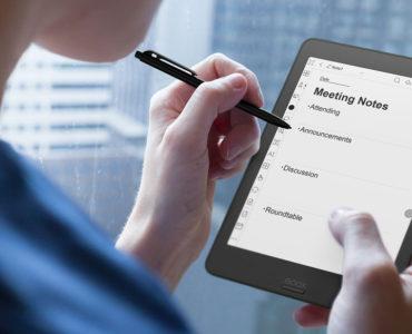 Robienie notatek na czytniku ebooków Onyx Boox Nova 2