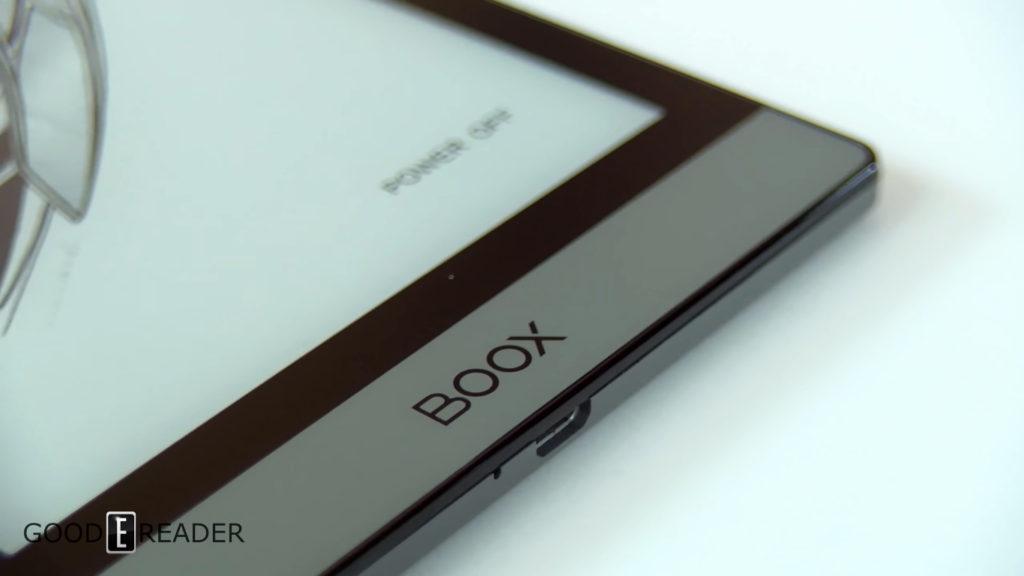 Dolna krawędź e-czytnika Onyx Boox Poke 2