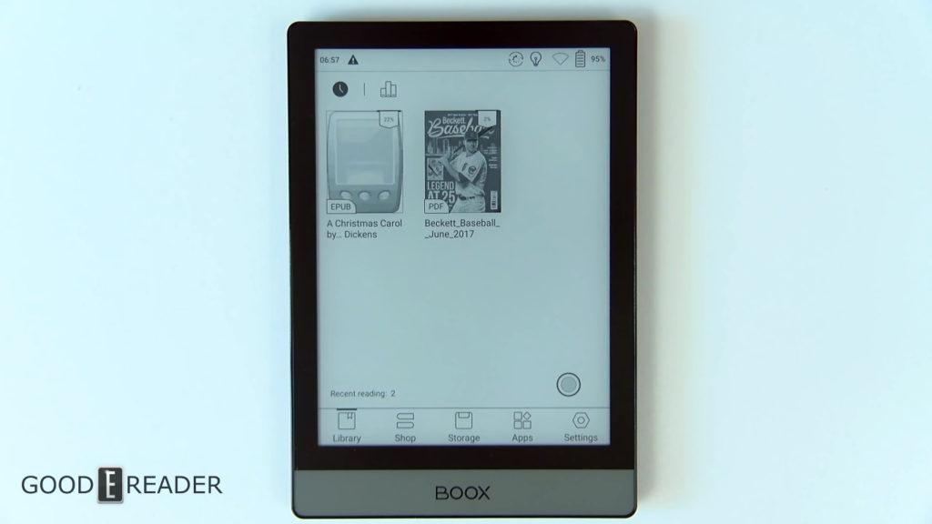 Biblioteka ebooków e-czytnika Onyx Boox Poke 2
