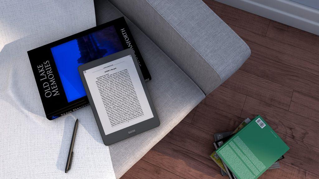 Czytanie ebooków na e-czytniku Onyx Boox Nova 2