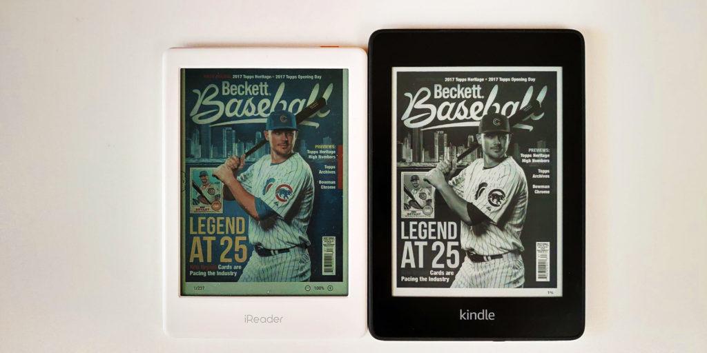 Kindle Paperwhite 4 vs. kolorowy czytnik ebooków iReader C6