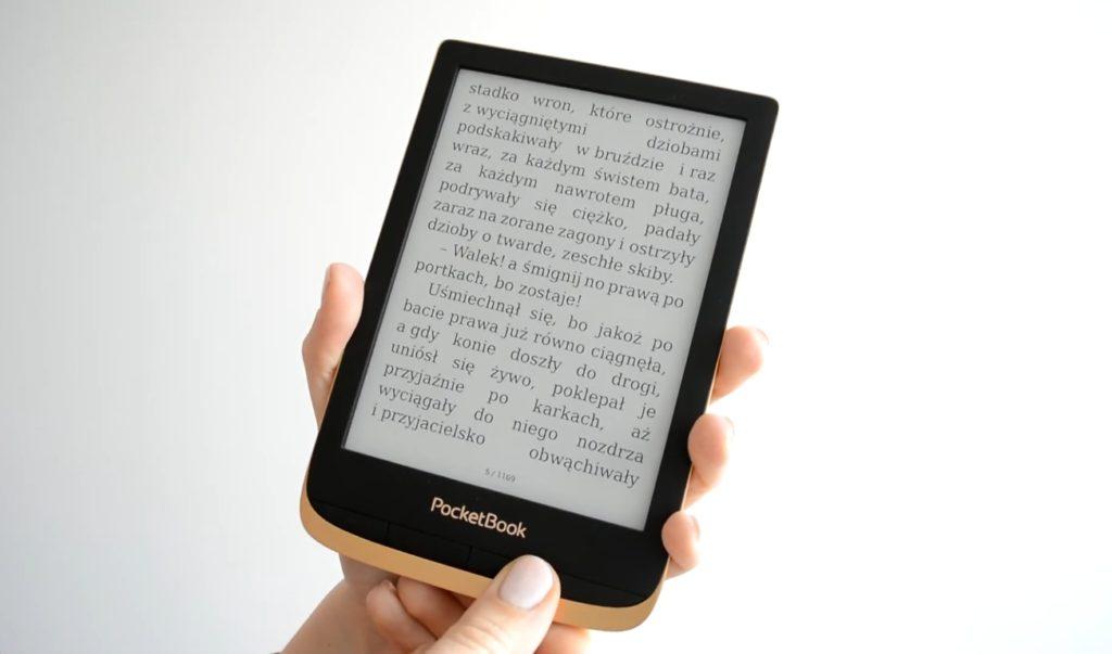 Czytanie ebooków z Legimi na e-czytniku Pocketbook