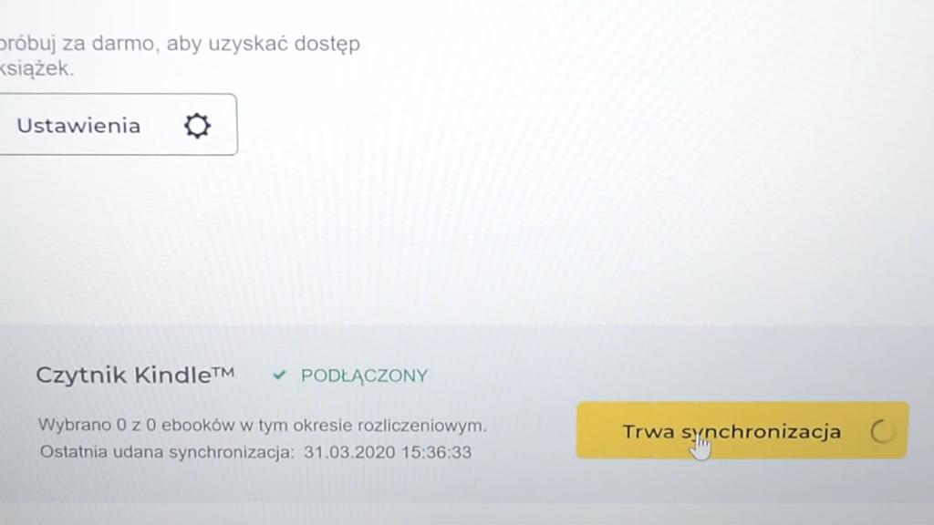 Synchronizacja ebooków z Legimi z czytnikiem ebooków Kindle