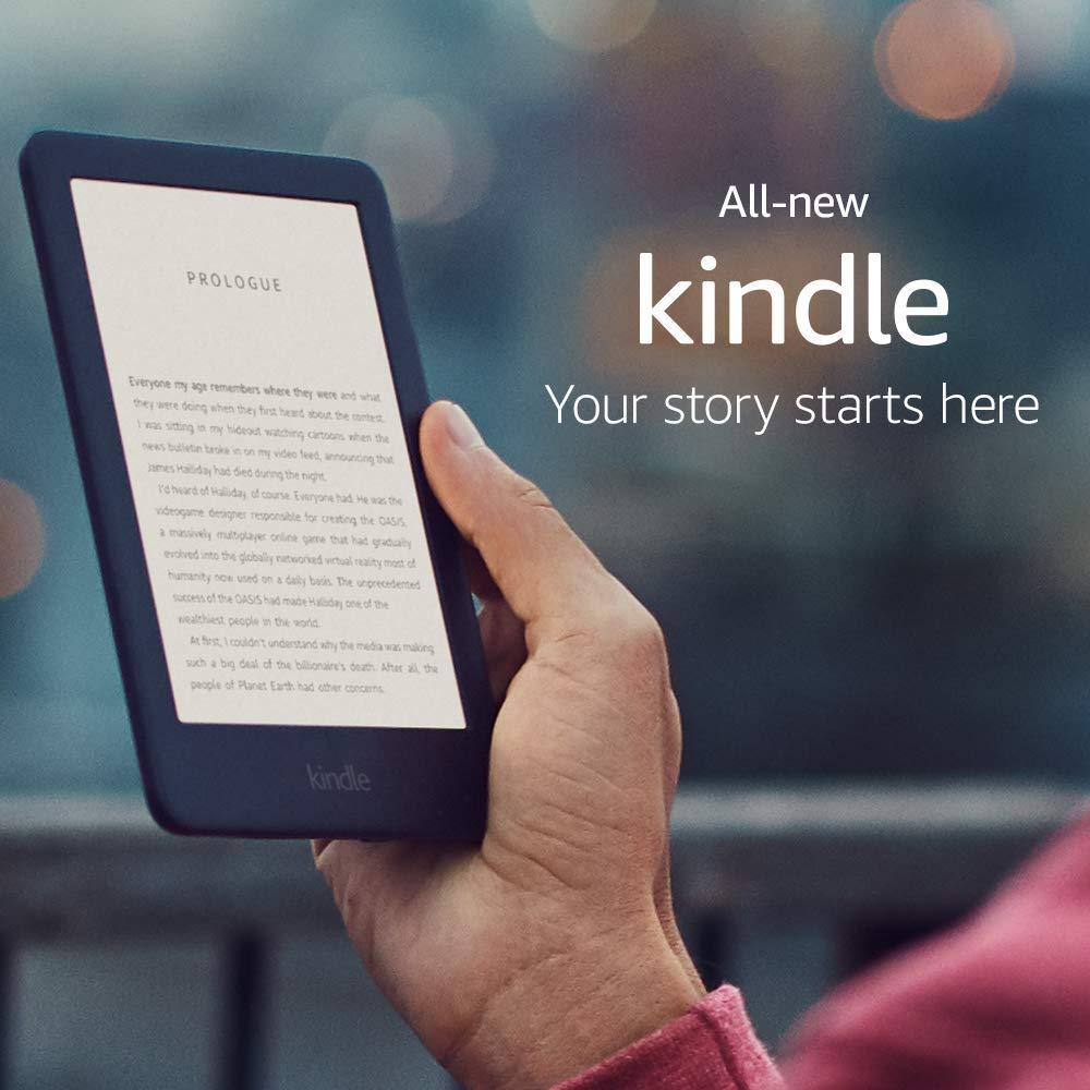 Czytnik Kindle 10 wyposażony w 8 GB wewnętrznej pamięci flash