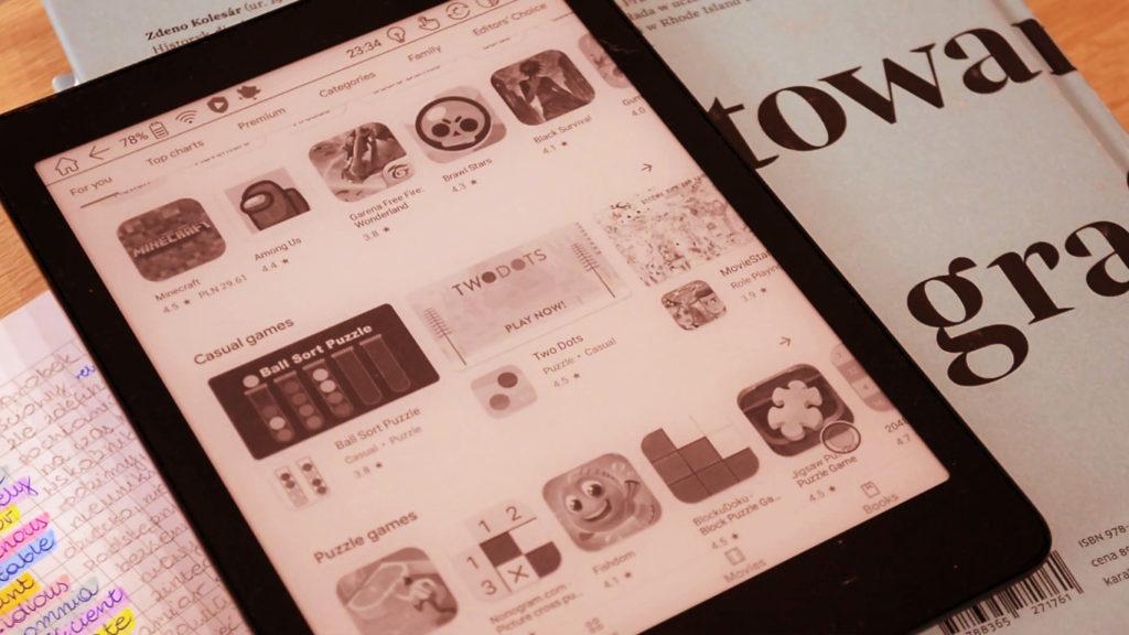Pobieranie aplikacji z Google Play na czytniki Onyx Boox