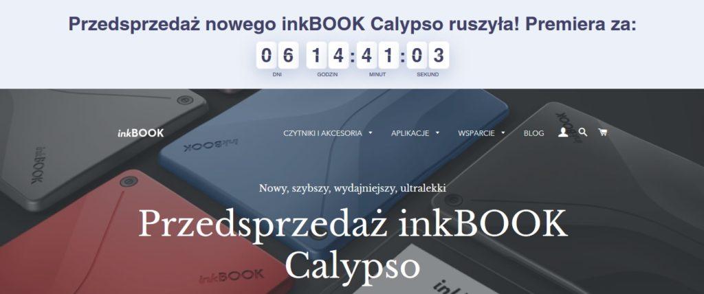 Przedsprzedaż inkBOOKa Calypso