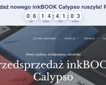 Polski czytnik InkBOOK Calypso dostępny w przedsprzedaży