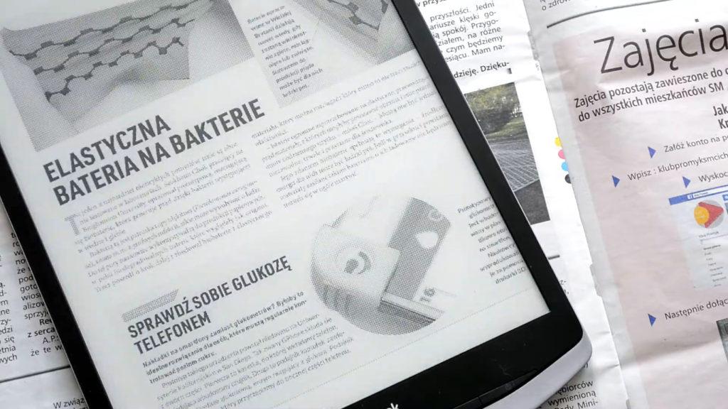 Prasa elektroniczna na czytniku PocketBook