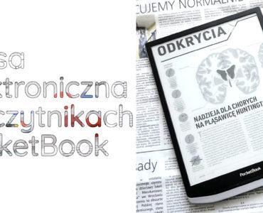 Prasa elektroniczna na czytnikach PocketBook