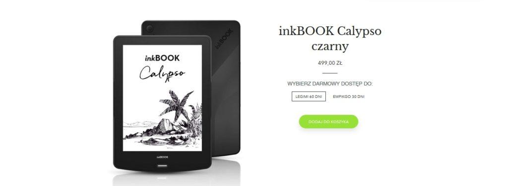 Czarny inkBOOK Calypso (strona producenta)