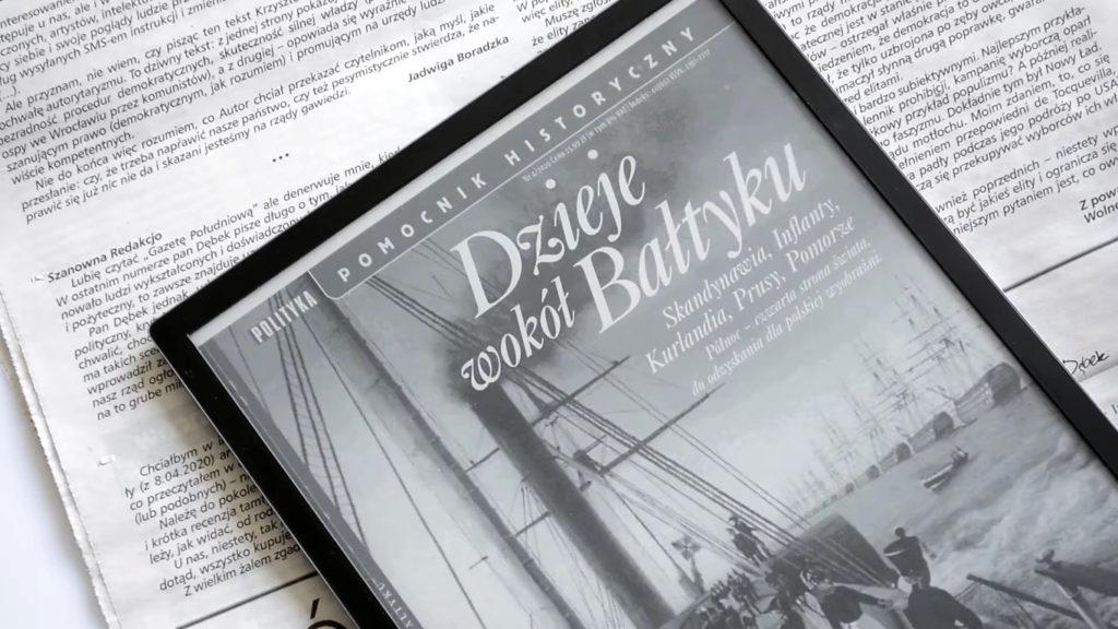 Okładka czasopisma na czytniku PocketBook