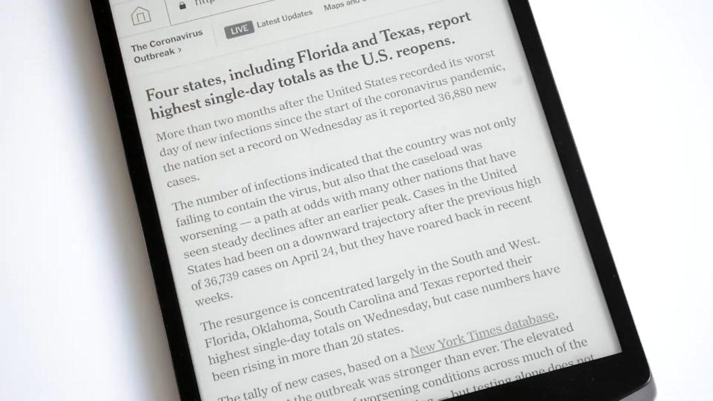 Przeglądanie Internetu na czytniku PocketBook