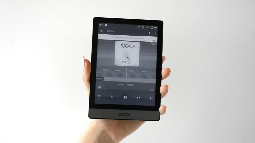Słuchanie audiobooków w aplikacji Storytel
