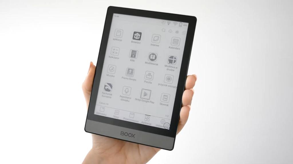Aplikacje dla Chrześcijan na czytniku ebooków Onyx Boox