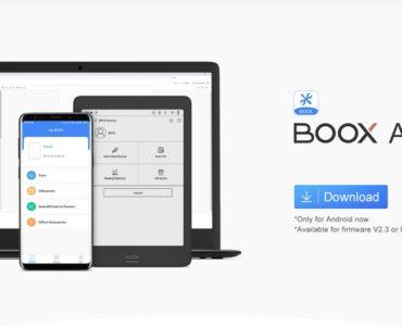 Bezprzewodowe przesyłanie ebooków za pomocą Boox Assistant