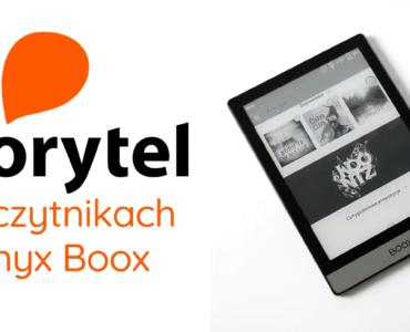 Aplikacja Storytel na czytnikach Onyx Boox