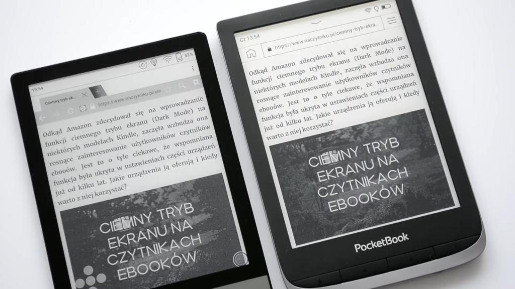 Przeglądanie Internetu na czytnikach PocketBook Touch HD 3 i Onyx Boox Poke 2