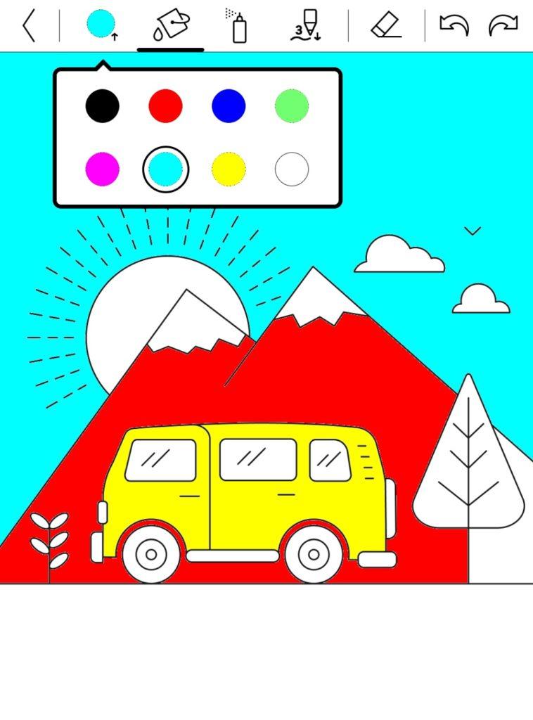 Kolorowanki na PocketBooku Color