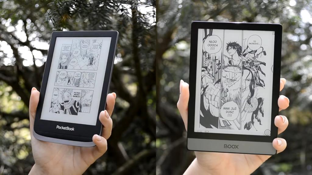 Komiksy na czytnikach PocketBook Touch HD 3 i Onyx Boox Poke 2
