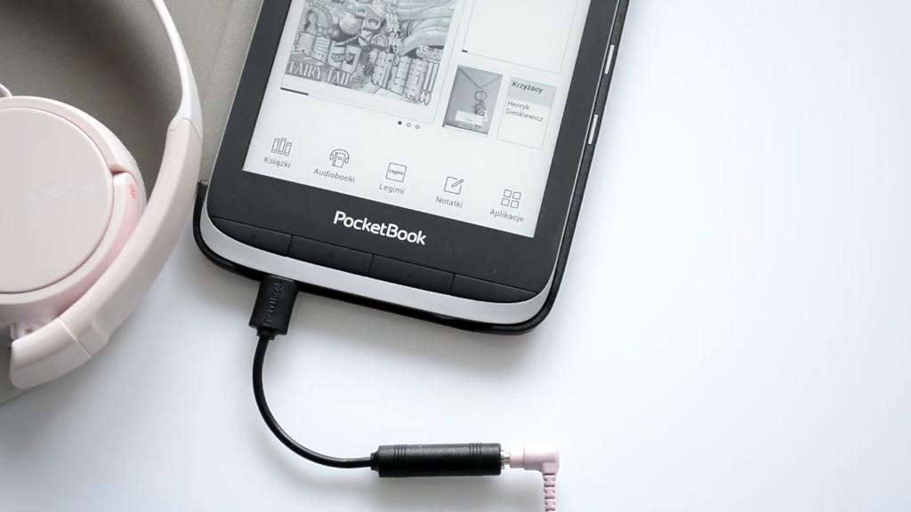 Słuchanie audiobooków na czytniku PocketBook Touch HD 3