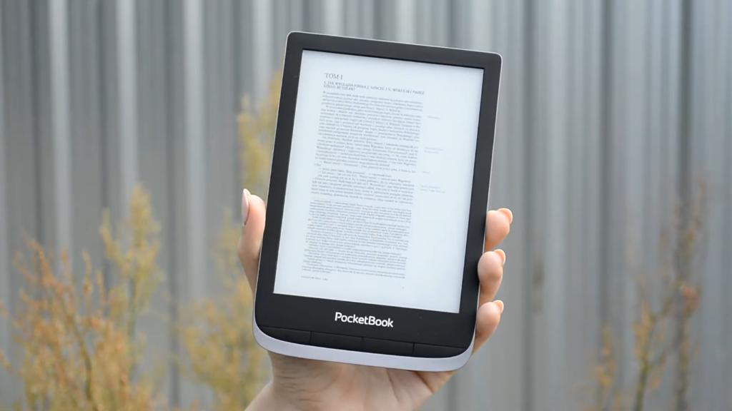 Książki PDF na czytniku PocketBook Touch HD 3