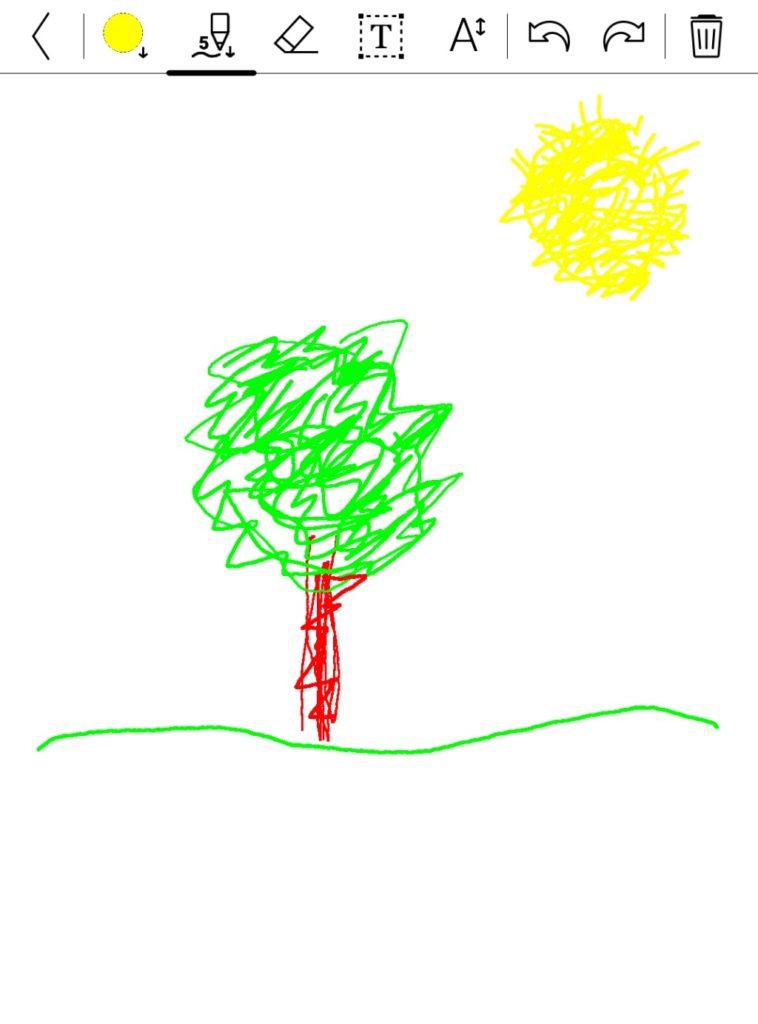 Aplikacja do rysowania na PocketBooku Color
