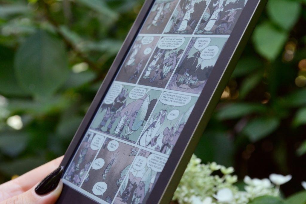Komiksy na PocketBooku Color
