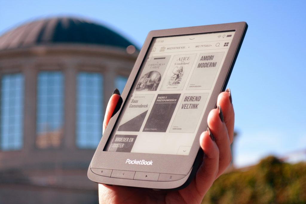 Biblioteka ebooków na PocketBooku Touch Lux 5