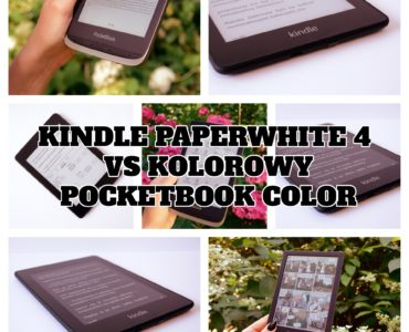 Kindle Paperwhite 4 vs kolorowy PocketBook Color
