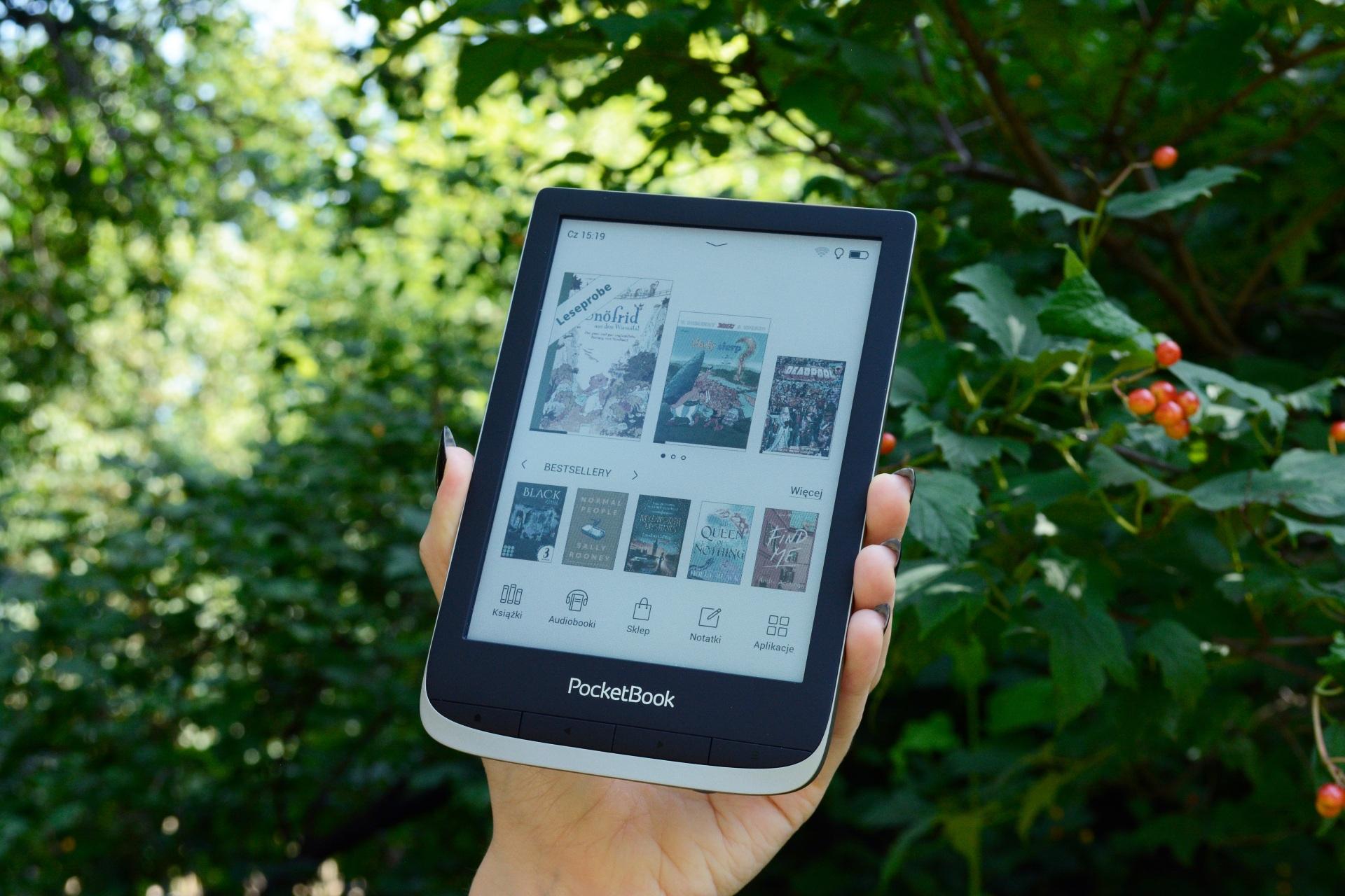 Pierwszy kolorowy czytnik ebooków PocketBook [recenzja PocketBooka Color] - www.naczytniku.pl
