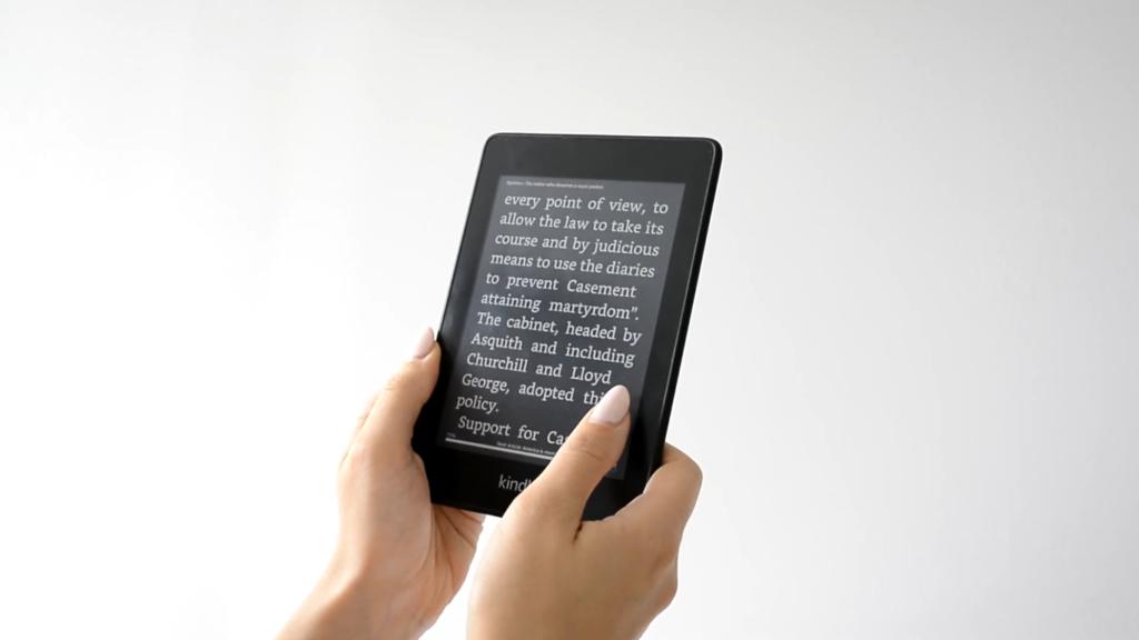 Dark Mode na Kindle Paperwhite 4