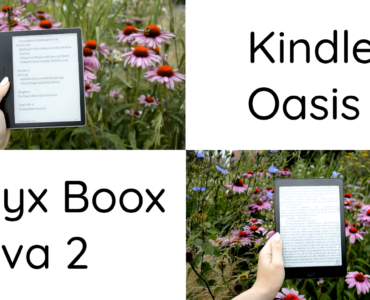 onyx boox nova 2 vs kindle oasis 3