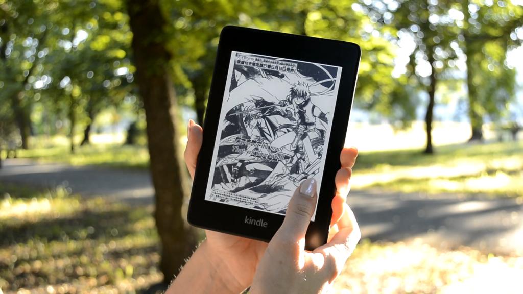 Komiksy na Kindle Paperwhite 4