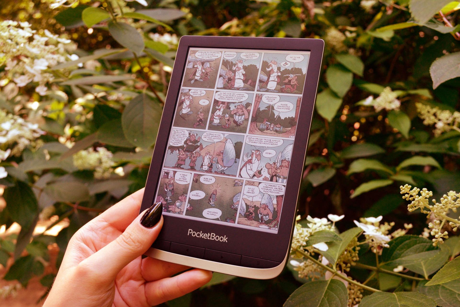 Dlaczego PocketBook Color jest świetny do czytania mangi i komiksów? - www.naczytniku.pl