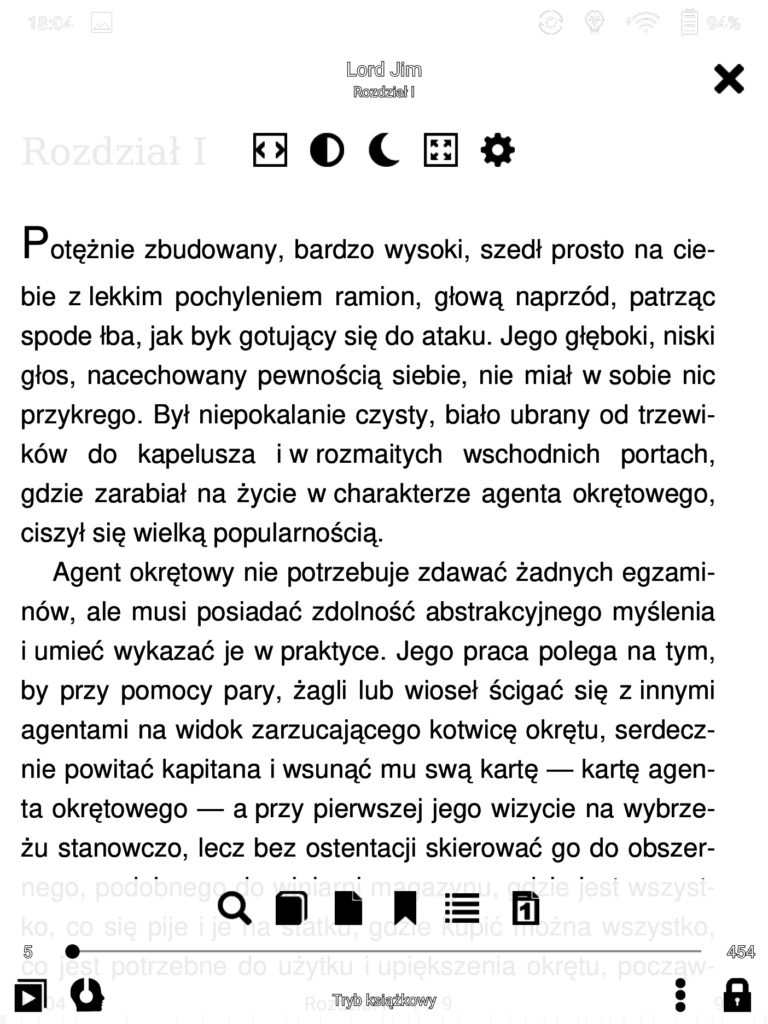 Aplikacja Librera na czytnikach Onyx Boox
