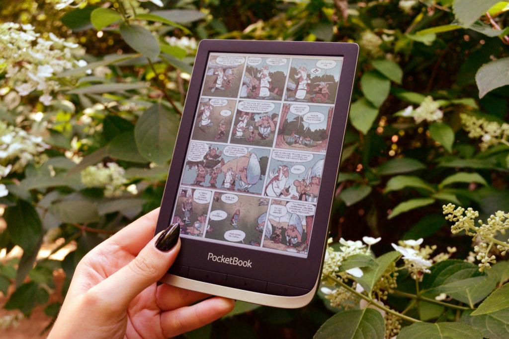 Czytanie komiksów na PocketBooku Color