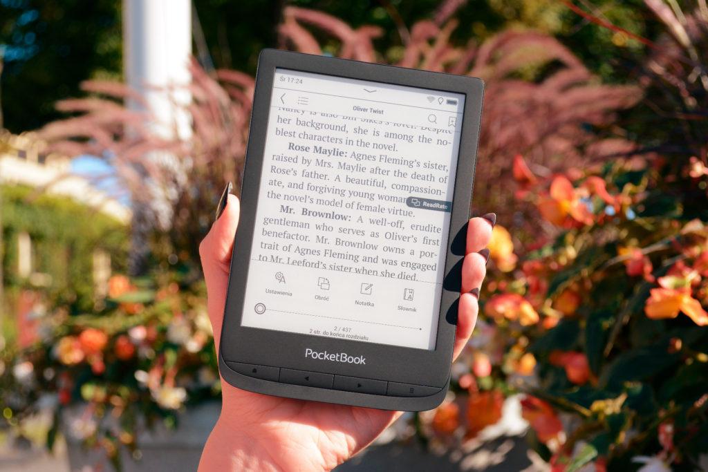 Ustawienia czytania ebooków na PocketBooku Touch Lux 5