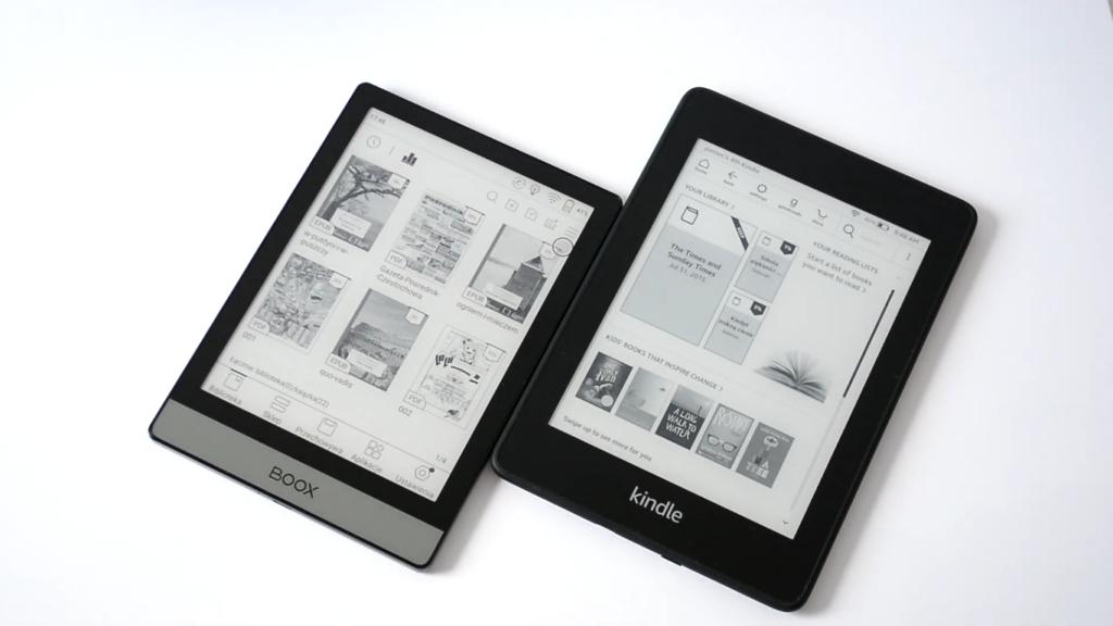 Onyx Boox Poke 2 vs Kindle Paperwhite 4
