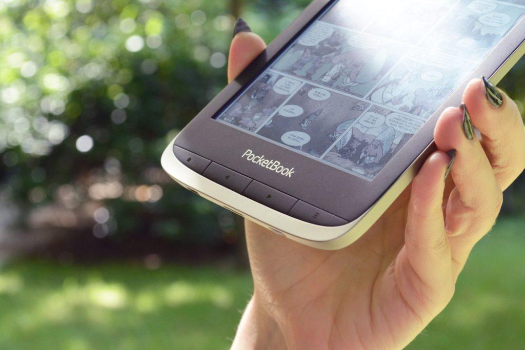 Przyciski fizyczne PocketBooka Color