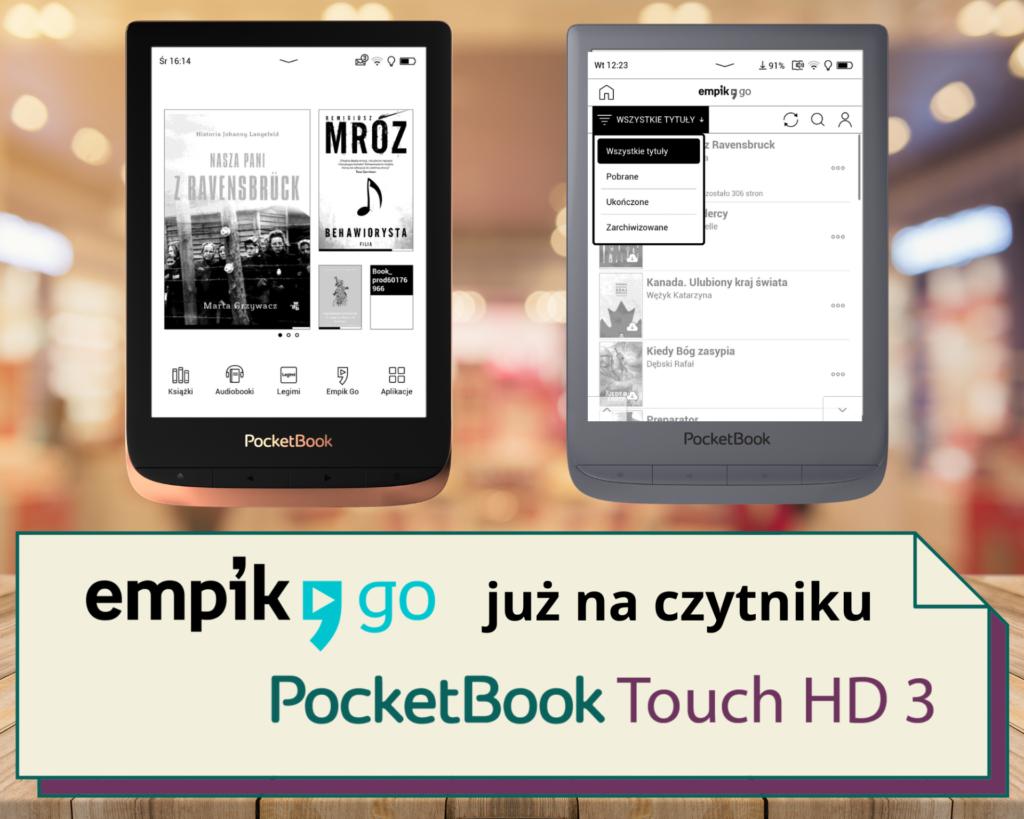 Empik Go na czytniku PocketBook Touch HD 3