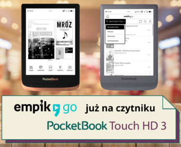 Empik Go na czytniku PocketBook Touch HD 3