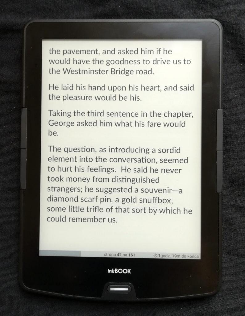 Czytanie ebooków na inkBOOKu Calypso