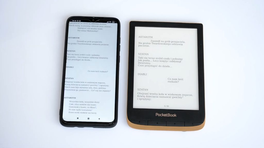 Synchronizacja ebooków pomiędzy telefonem a czytnikiem