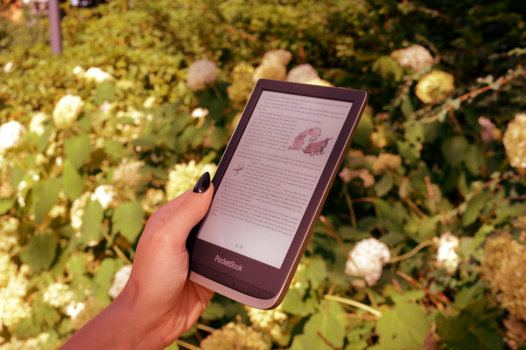 Czytanie ebooków na PocketBooku Color