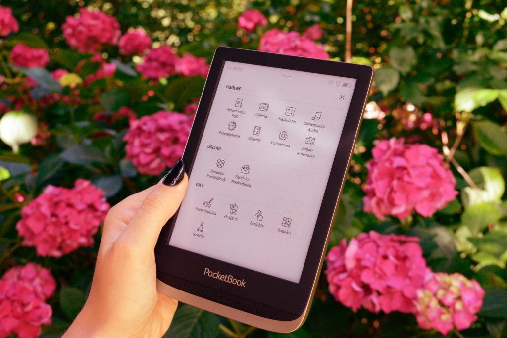 Menu główne PocketBooka Color