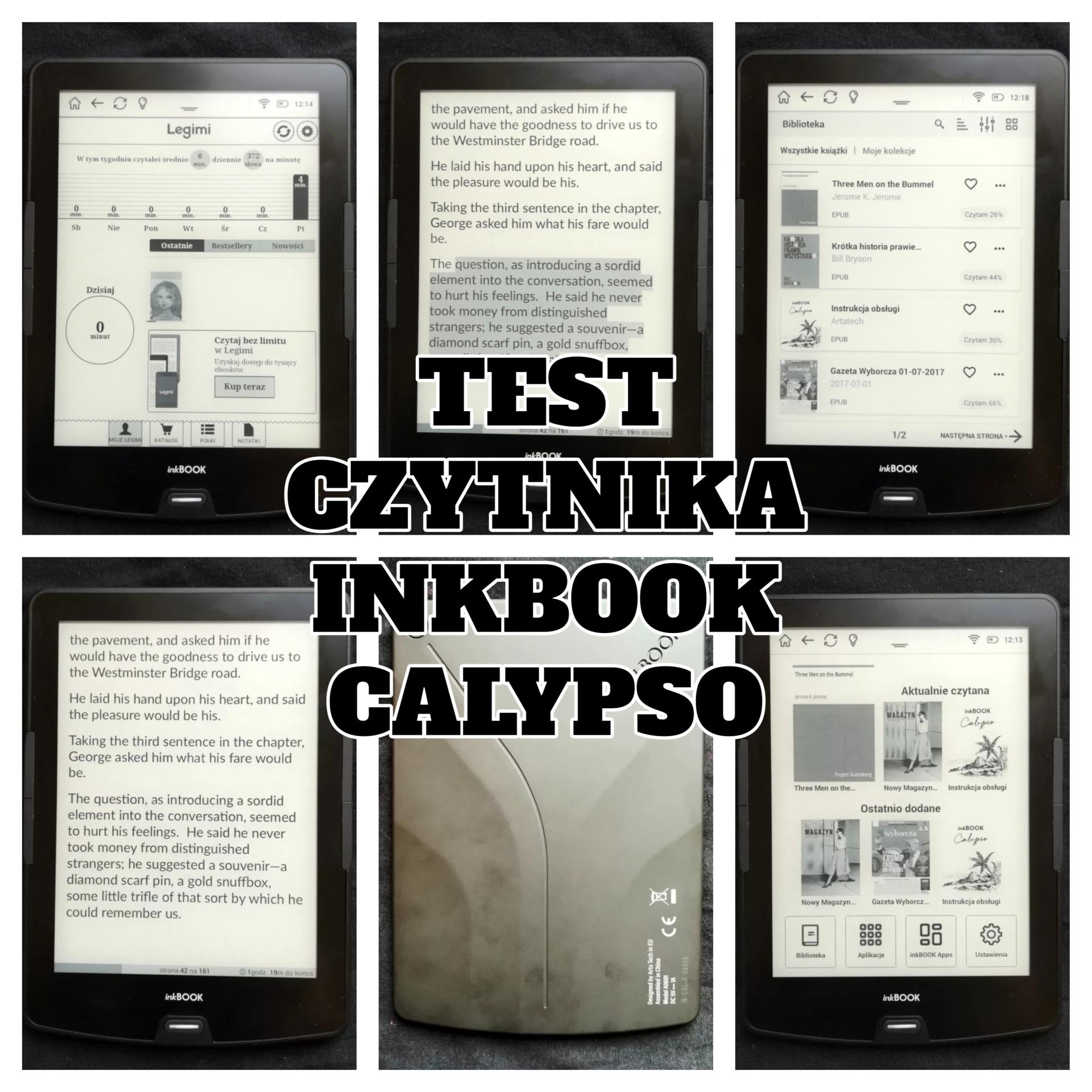 Test czytnika InkBOOK Calypso - www.naczytniku.pl