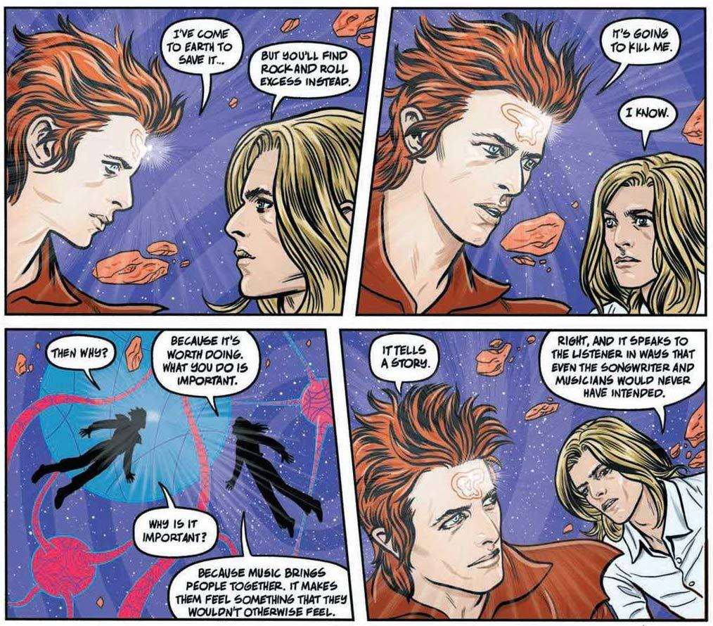 Graficzna biografia Davida Bowiego