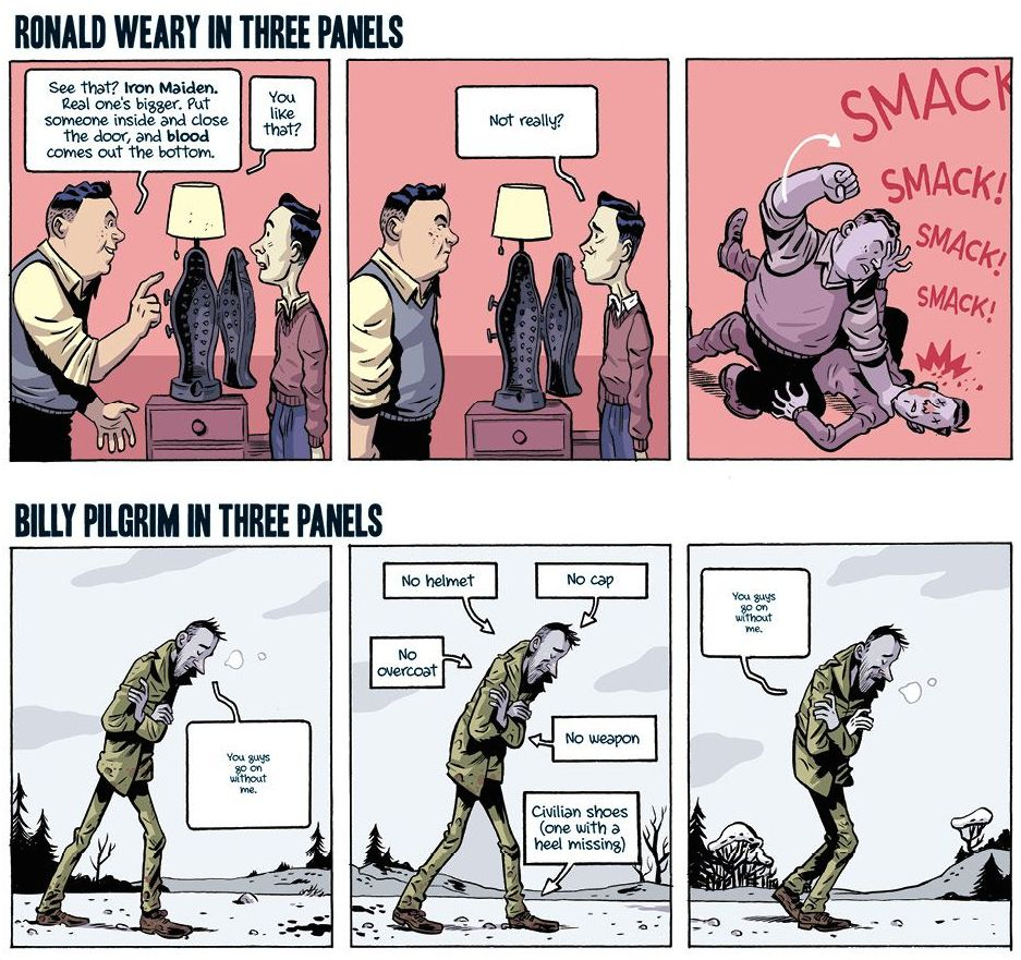 Graficzna adaptacja 'Rzeźni nr 5' Kurta Vonneguta przygotowana przez  przygotowana przez BOOM! Studios'