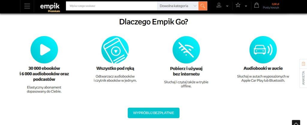 Aplikacja Empik Go