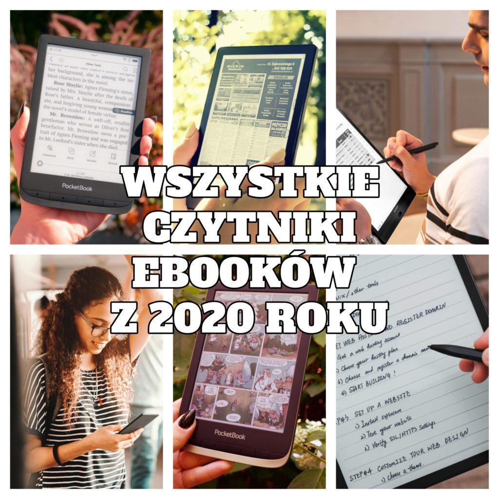 Wszystkie czytniki ebooków z 2020 roku [podsumowanie]